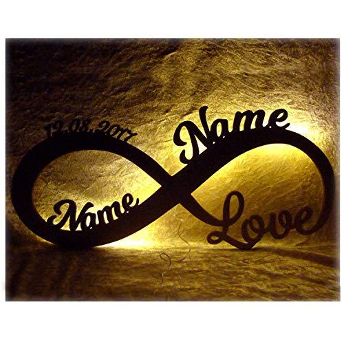 Valentinstagsgeschenk Infinity I Das perfekte Liebesgeschenk Geschenk Liebe zum Valentinstag, Hochzeit, Verlobung, Geburtstag oder Jahrestag für Frau Mann Freund Freundin Paare Männer Frauen