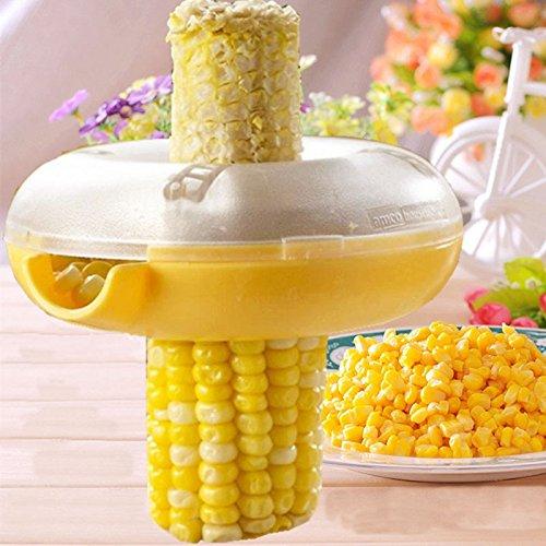 Edealing 1X Quick Cut Corn Peeler kerneler rimozione della pannocchia Thresher cucina Tool Set