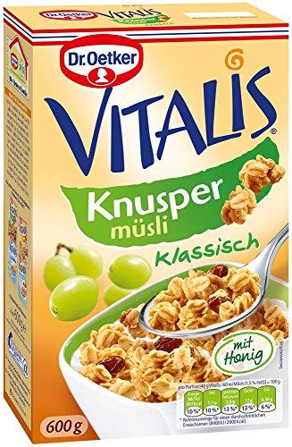 Dr. Oetker Vitalis Knusper Müsli klassisch, 600 g (Vital-produkte)