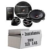BMW 3er E46 - Pioneer TS-A133Ci 2-Wege 13cm Lautsprecher System - Einbauset