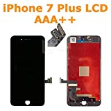 lite-am  Ersatz 14cm Apple iPhone 7Plus schwarz Touch Screen Digitizer Front Glas + LED LCD Montage AAA + + für iPhone 7Plus A1661A1784A1785