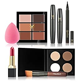 BrilliantDay Set De Maquillage Coffret Cadeau-Coffret Maquillage