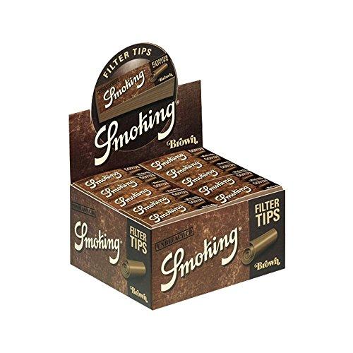 Oferta de Smoking Filter Tips Medium Brown