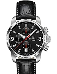 Certina C001.427.16.057.00 Men's Automatic Chronograph Watch Leather Strap XL