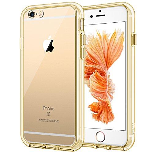Jetech custodia per iphone 6 e iphone 6s, con assorbimento-urto e anti-graffio, oro