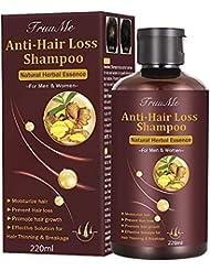 Hair Growth Shampoo,Hair Loss shampoo, Anti-Hair Loss Shampoo, Helps Stop Hair Loss, Grow Hair Fast, Hair Loss Treatment for Men & Women(220mL)