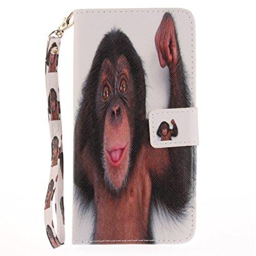 AIXIN Wallet Flip Motif coloré Case Cover Housse Portefeuille Etui Pour Coque Apple iPhone 7 Plus (2017) Smartphone, stylet inclus (Design 7 ) Design 03