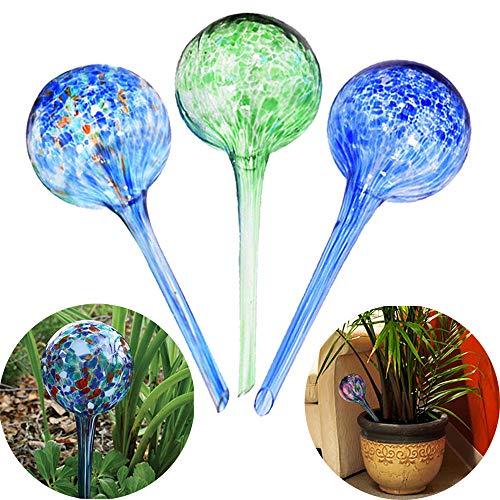 Sungmor Lot de 3 ampoules d'arrosage pour plantes en pot 7 x 20 cm Capacité 200 ml