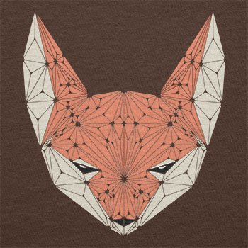 Texlab – Triangle Fox – sacchetto di stoffa Marrone
