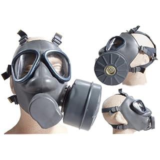 4er Set Finnische Schutzmaske (US Mod. M9) m. Filter neuwertig Gasmaske ABC-Ausrüstung