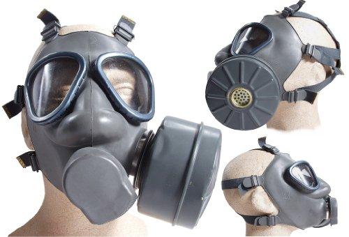 4er Set Finnische Schutzmaske US Mod. M9 mit Filter neuwertig