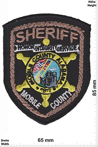 Patch - Sheriff - Mobile Country - Alabama - Police - US - Police Patch - Polizei - SWAT - Patches - Aufnäher Embleme Bügelbild Aufbügler