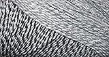 #6: WOA Fashions Acrylic Hand Knitting Yarn - Pack of 2 (Multi Grey)