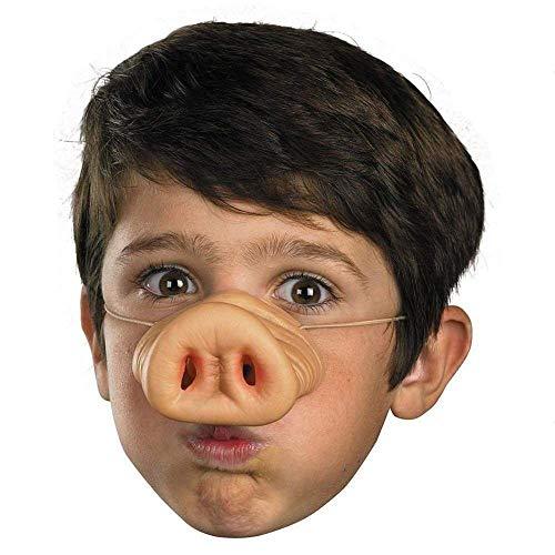 SODIAL Halloween Latex-Schweinenase Schwein Nase Kostuem Gummi Latexnase Schnauze Maske Lustige Pig Nose (Schwein Nase Halloween Kostüm)