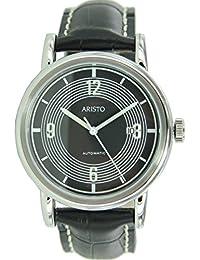 02396fb037e Aristo 4H190SL Retro Mercedes Dashboard Clock Design Automatic Watch