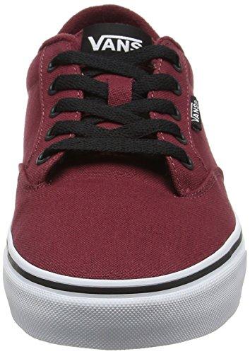Vans Herren Mn Winston Sneakers Rot (Canvas Oxblood/black)
