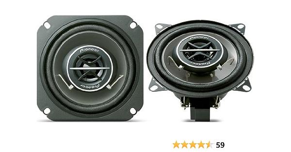 Pioneer Ts 1002i Markenspezifische 2 Wege Auto Lautsprecher 10 Cm Wooferdurchmesser 120 Watt Steckverbinder Für Renault