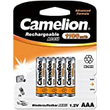 Camelion - 4 piles rechargeables ( accus ) AAA / LR3 NiMH 1100mAh