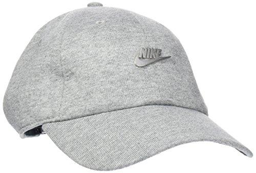 Nike Sportswear Heritage 86 Metal Futura Kappe, Dark Grey Heather/Black/(Matte Silver), One Size