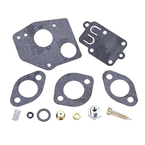 HIPA Kit de Révision de Carburateur 495606 pour Moteur Briggs & Stratton 494624 Horizontal