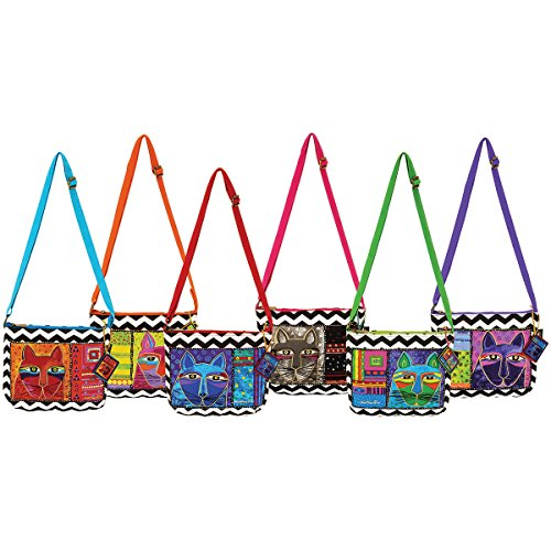 laurel-burch-lb5320-zipper-top-assortment-cross-body-bag-11-3-4-by-2-by-8-1-2-inch-whiskered-cats