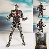 COOL MODEL DC Superhéroe Modelo Liga De La Justicia Art Cyborg Victor Stone Diagrama De Acción Juego Infantil Figuras -20cm