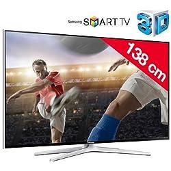 Interactive et intuitive, la TV Samsung UE55H6400 vous permet de naviguer facilement et rapidement dans son interface Smart TV.Ce téléviseur LED Full HD est livré avec la nouvelle télécommande Smart Touch. En utilisant le gyroscope ou l'interaction v...