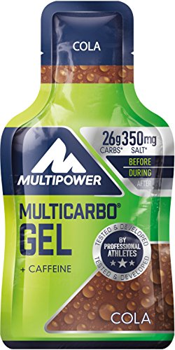 Multipower Multi Carbo Energy Gel, Cola (24 x 40 g)