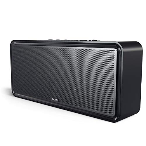 DOSS SoundBox XL-Altavoz Bluetooth de Casa Wireless Home Speakers para Streaming de Música Music Box con 12W de Subwoofer para iPhone, iPad, Huawei- Negro