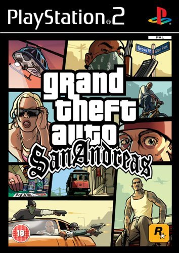 Grand Theft Auto: San Andreas (PS2) by Playstation - Andreas Gta Ps2 San