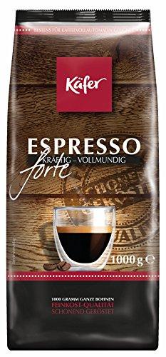 Käfer Espresso Forte, ganze Bohne, 1.000 g, 1er Pack (1 x 1...