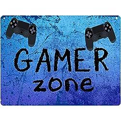 creosoleil Plaque Aluminium Porte Gamer Gaming ado Art Deco 15 x 20 cm