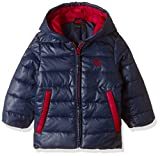 United Colors of Benetton Baby Boys' Jacket (16A2GK3538D0G13C0Y_Navy Blue)