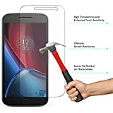 DMG Tempered Glass, iKare Tempered Glass Screen Protector for Motorola Moto G4 Plus (2.5D Smooth Edge Ultra Clear)