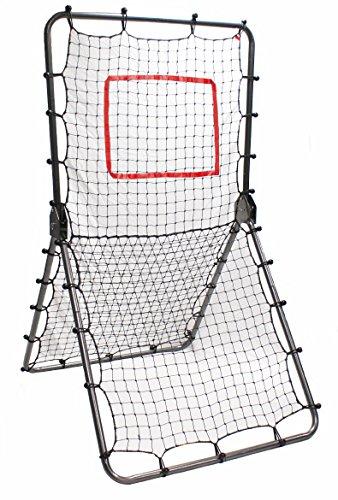 Trigon Sports Multi-Sport Net Pitch Back Screen Rebounder, Gray Test