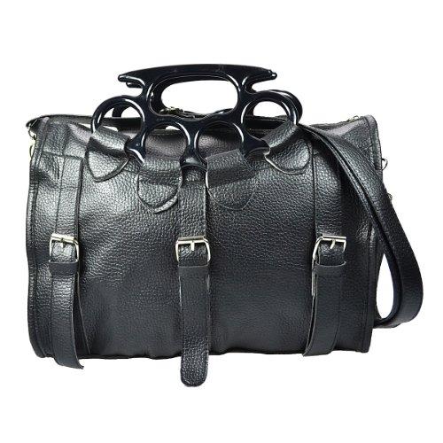 Poizen Industries Schultertasche LETHAL BAG black (Schuh Lethal)