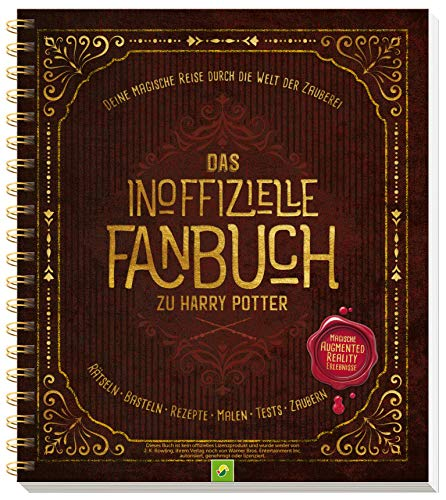 HARRY POTTER Das inoffizielle Fanbuch Rätseln, Basteln, Rezepte, -