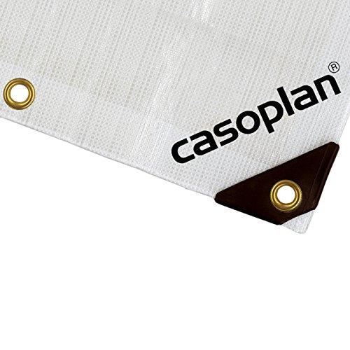Casoplan Abdeckplane Plane Bootsplane 300g Extrem reißfest und Wasserdicht (4x6m)