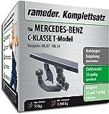 Rameder Komplettsatz, Anhängerkupplung abnehmbar + 13pol Elektrik für Mercedes-Benz C-KLASSE T-Model (142973-06437-1)
