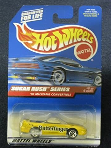 Hotwheels '96 Mustang Convertible-Sugar Rush Series #4 of 4 #744