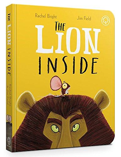 The Lion Inside Board Book por Rachel Bright