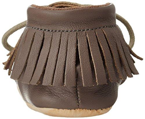 Easy Peasy - Meximoo, Scarpine e pantofole primi passi Unisex – Bimbi 0-24 Grigio (Grau (017 Ecorce))