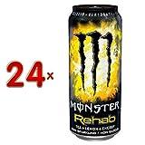 Monster Energy Drink Rehab 24 x 0,5l Dose (Energy mit Zitronentee)
