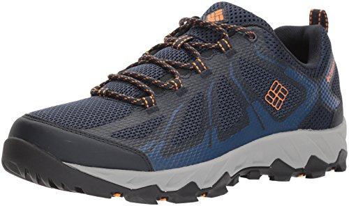 Columbia Herren Peakfreak XCRSN Ii Xcel Low Trekking-und Wanderhalbschuhe, Blau (Collegiate Navy, Orange Blast), 48, BM176146415_464