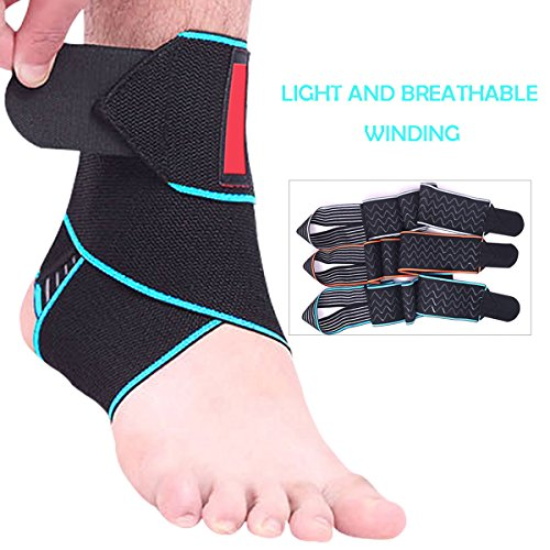 447d8586bf Beskey Ankle Support, Adjustable Ankle Brace Breathable Nylon Material Super  Elastic Comfortable One Size Fits all, Perfect Sports, Protects Against  Chronic ...