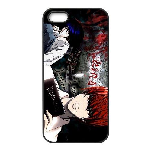 Death Note coque iPhone 4 4S Housse téléphone Noir de couverture de cas coque EBDXJKNBO11544