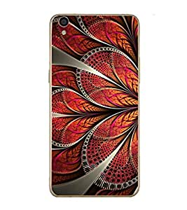 PrintVisa Floral Pattern High Gloss Designer Back Case Cover for Oppo R9 Plus