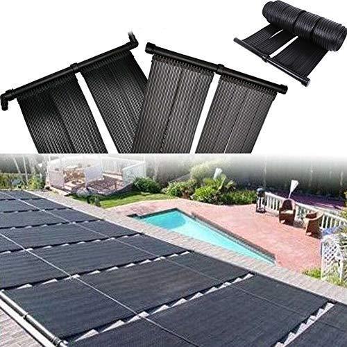 LWQ Solar-Heizung, Solar Pool Heizung Warmwasser Mat Sun Heizung Kit Solar Panel Kit wärmer