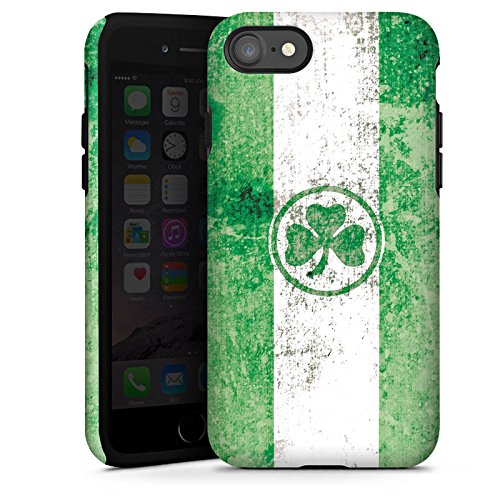 Apple iPhone X Silikon Hülle Case Schutzhülle SpVgg Greuther Fürth Fanartikel Bundesliga Tough Case glänzend