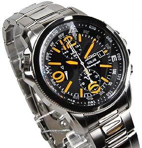Reloj de caballero Reloj de caballero SEIKO SSC077P1 - Reloj de Caballero movimiento de cuarzo con correa de piel de Seiko